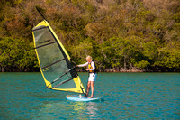 Windsurfing Lesson (Peggy and Ellie) - 30 March 15