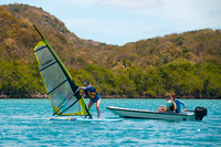 Windsurfing Lesson (with Dobbs) - 30 March 15